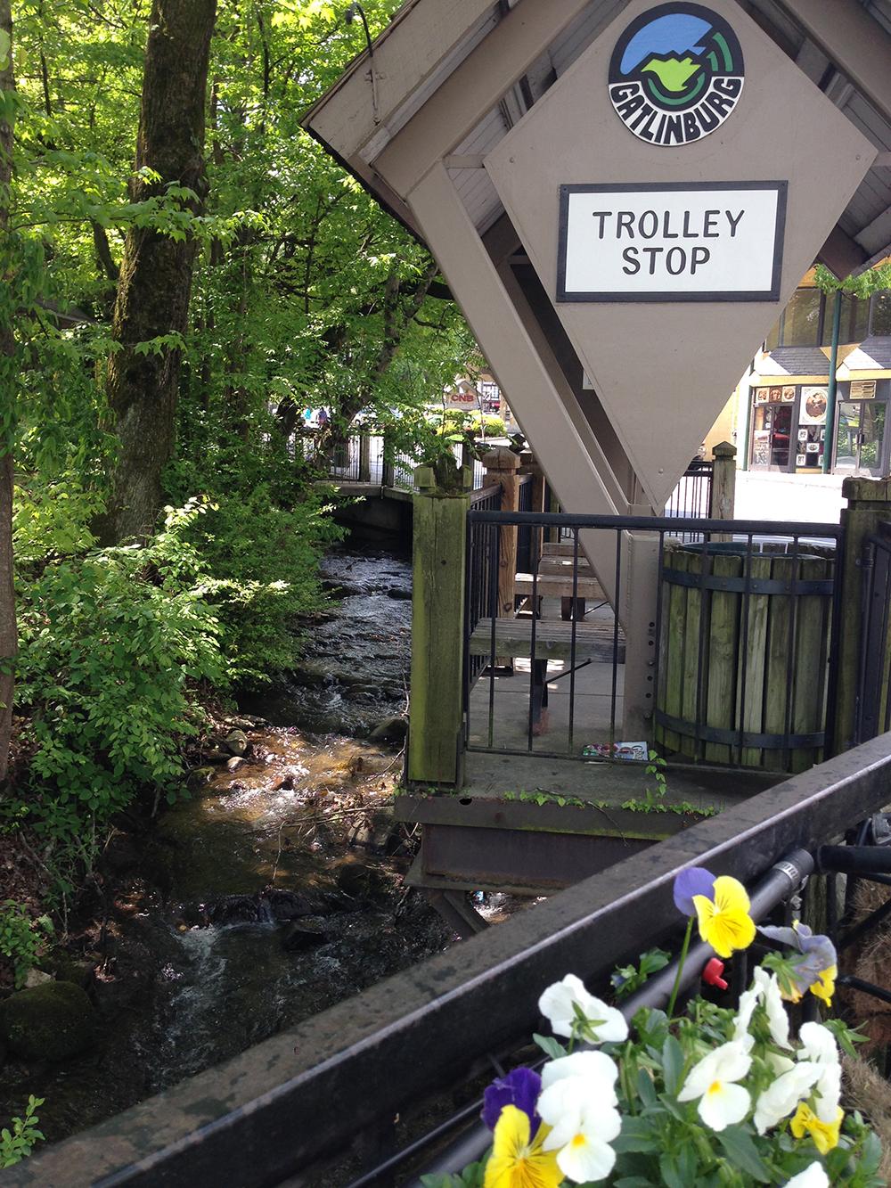 trolly stop gatlinburg tennessee