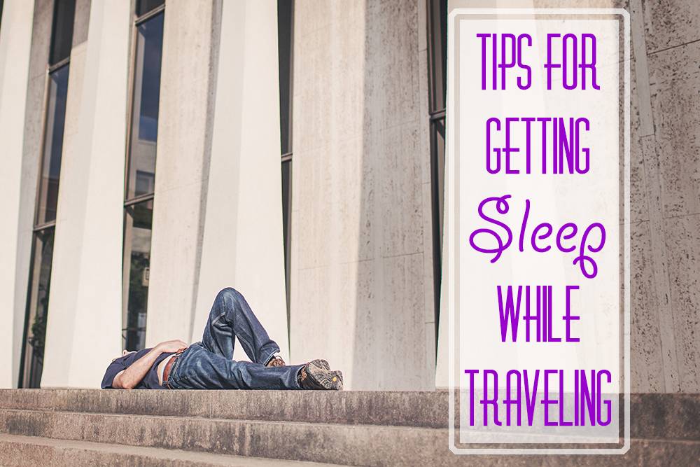 sarah kohl travel blogger getting sleep while traveling important travel tips