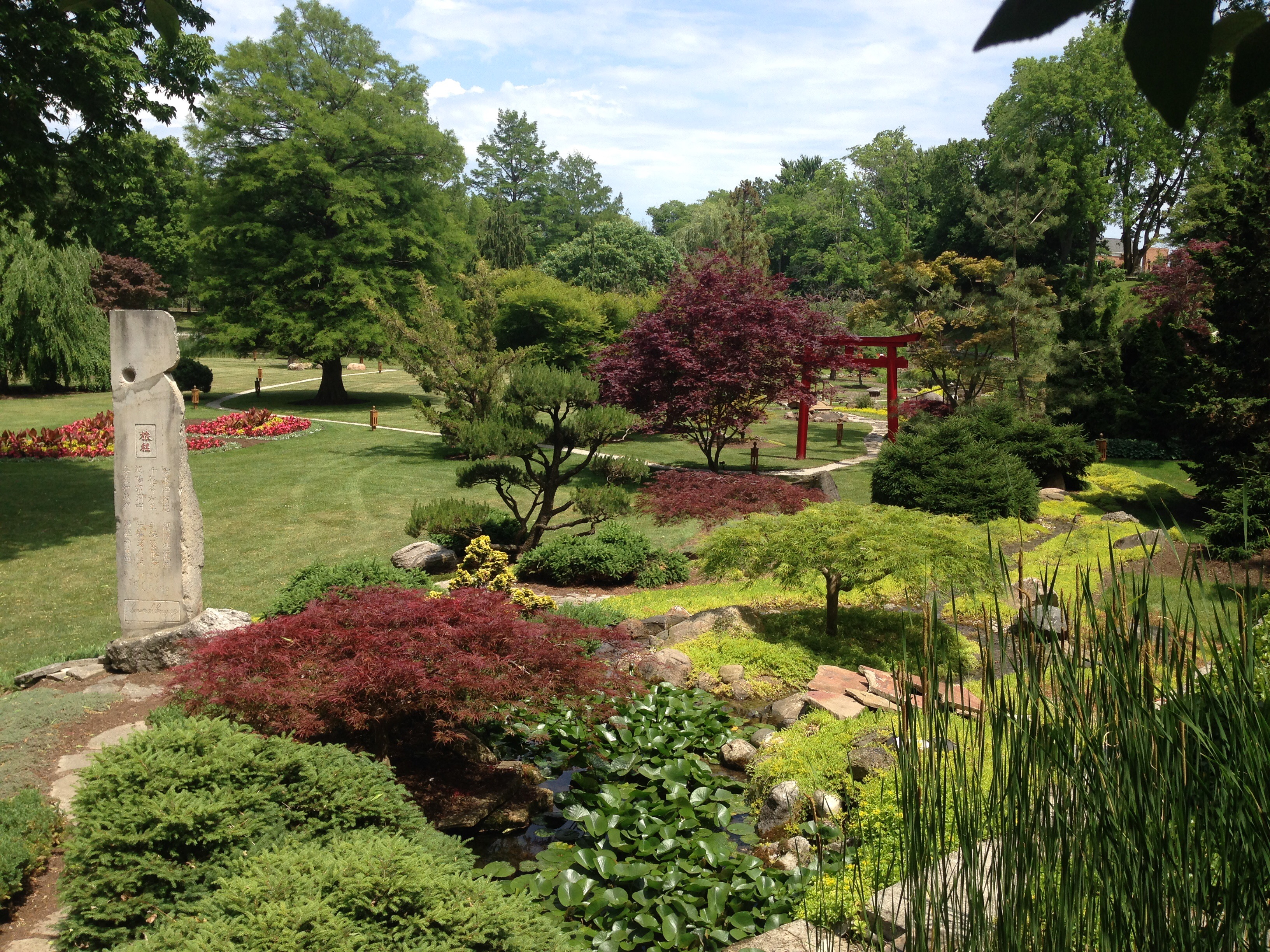 Schedel Arboretum And Gardens In Ohio